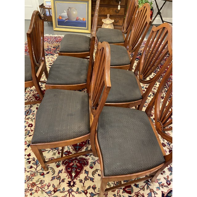 Early 20th Century Irving & Casson Dining Chairs - Set of 8 For Sale - Image 10 of 13