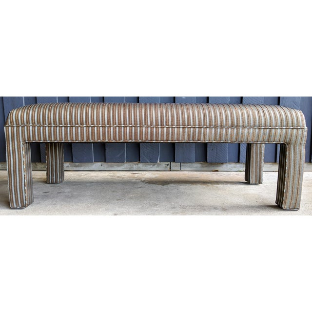 1980s 1980s Contemporary Parsons Bench For Sale - Image 5 of 12