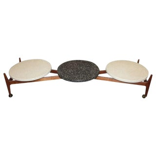 Mid Century Modern Coffee Table by Harvey Probber For Sale