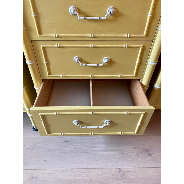 This vintage Thomasville dresser from 1966 is unaltered. Use in its original condition, or refurbish with a super glam new...