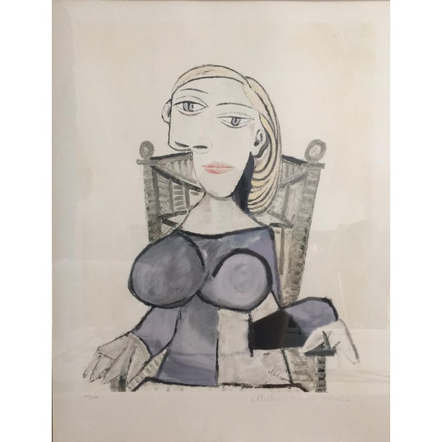 Pablo Picasso Femme Blonde Lithograph - Image 1 of 4