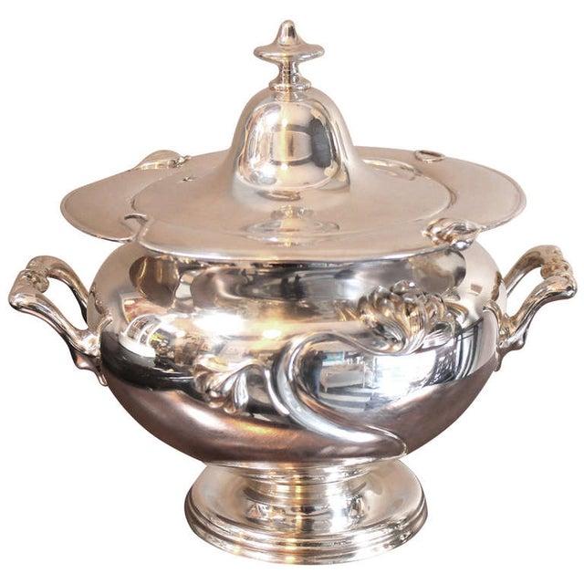 Art Nouveau Silver-Plate Tureen - Image 1 of 4