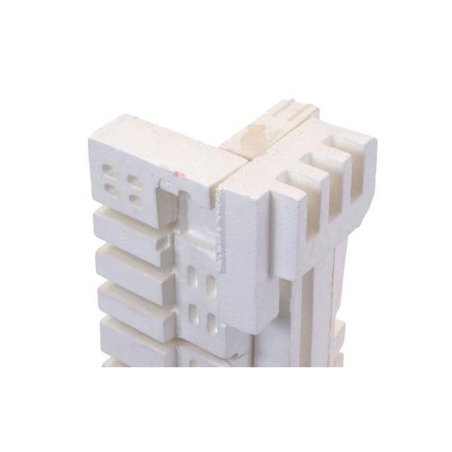 1980s Irving Harper Sculpture of Styrofoam from His Paper Sculpture Series For Sale - Image 5 of 9