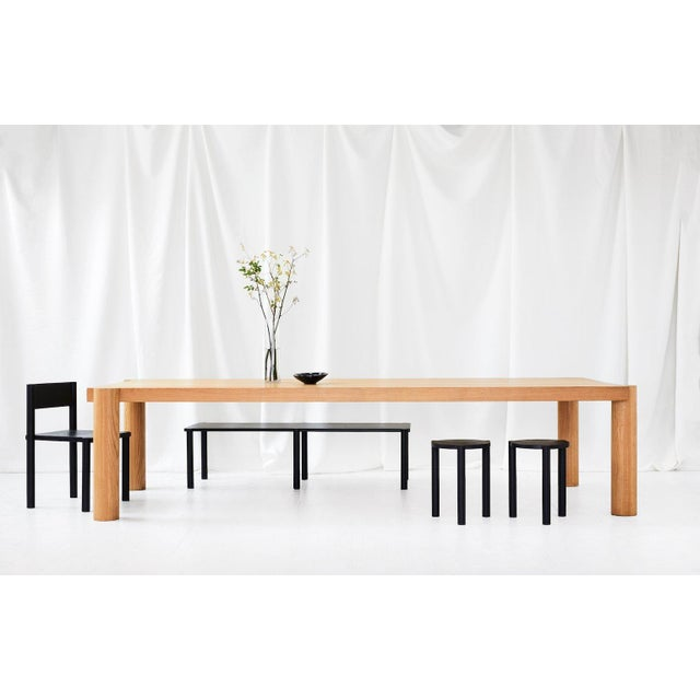Wc5 Bench by Ash Nyc in White Oak For Sale - Image 4 of 5