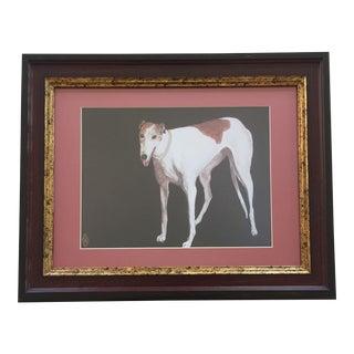 Judy Henn Greyhound Dog Print For Sale