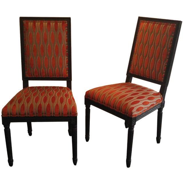 Ritz Carlton Showroom Dining Chairs - A Pair - Image 1 of 7