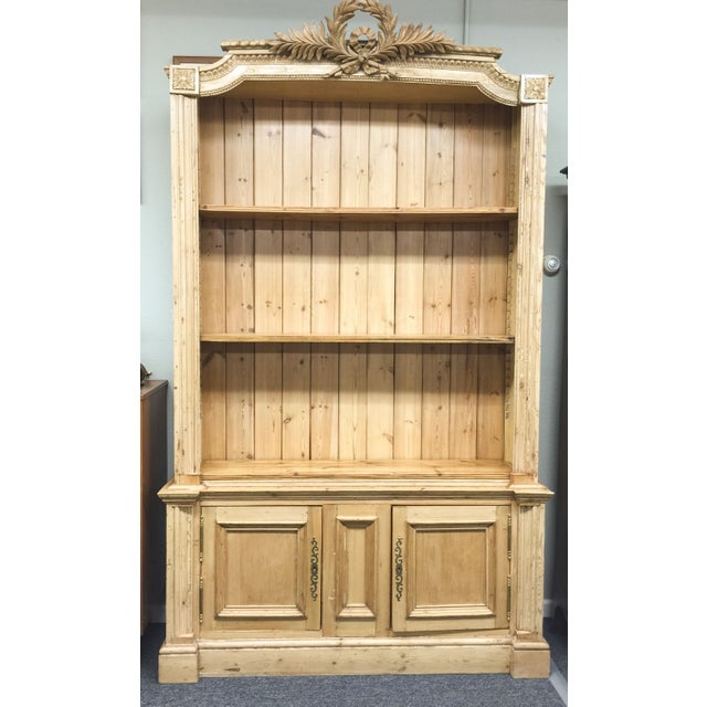 Antique French Pine Bookcase - Image 3 of 6