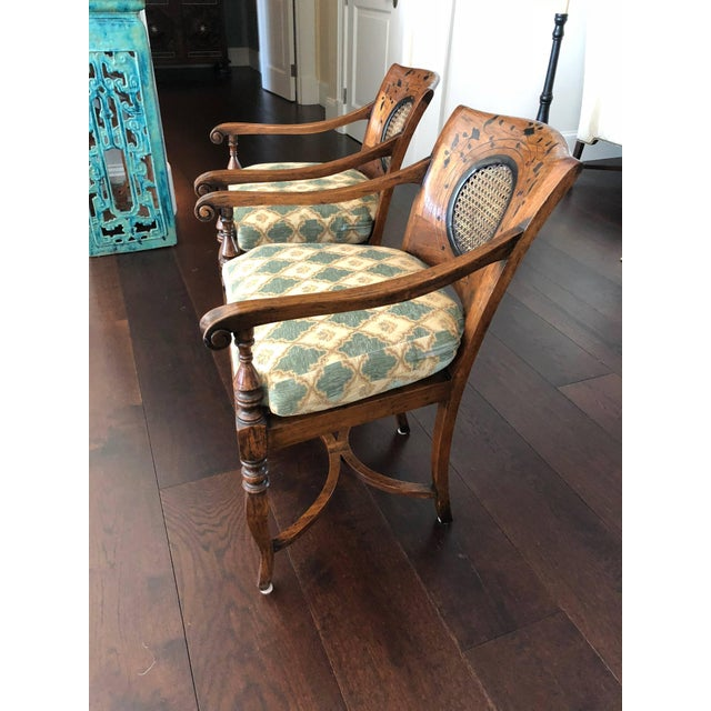 Anglo-Indian Anglo-Portuguese Armchairs - a Pair For Sale - Image 3 of 10