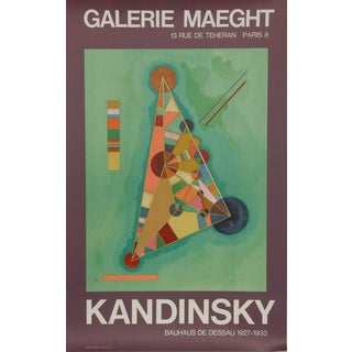Kandinsky, Exhibition at Galerie Maeght Poster