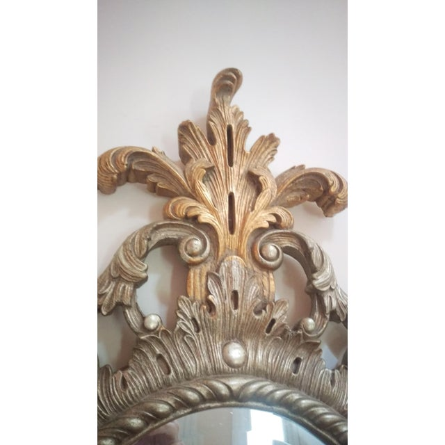 Antique Gilded Wall Mirror - Image 4 of 5
