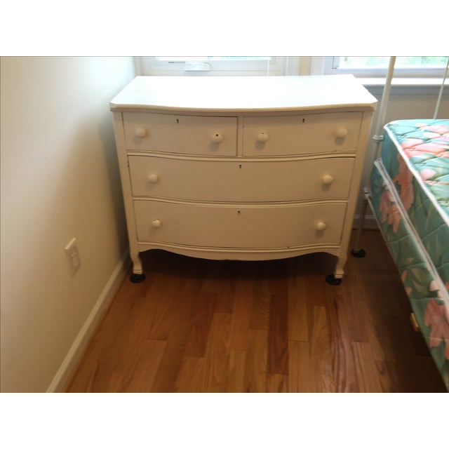 Painted White Wooden Dresser - Image 2 of 7