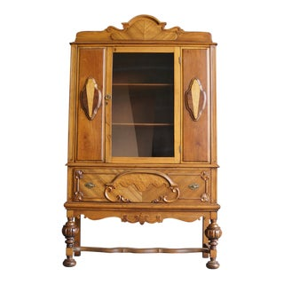 Antique American China Cabinet, 1920s