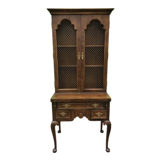 1980's Traditional Secretary Desk by Century Furniture For Sale