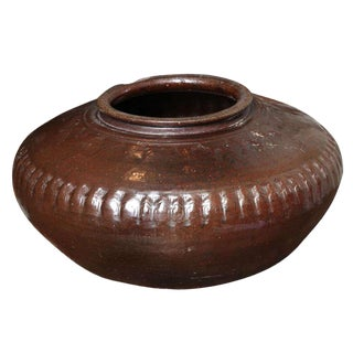 Large Brown Clay Pot For Sale