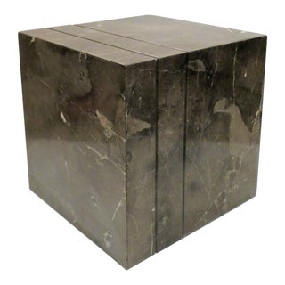 Modern Marble Side Table For Sale