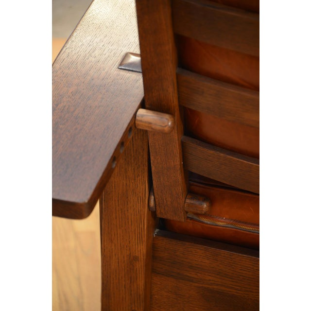 Bow Arm Morris Chair - Leopold Stickley's finest tribute to Willima Morris, the leader and champion of the English Arts &...