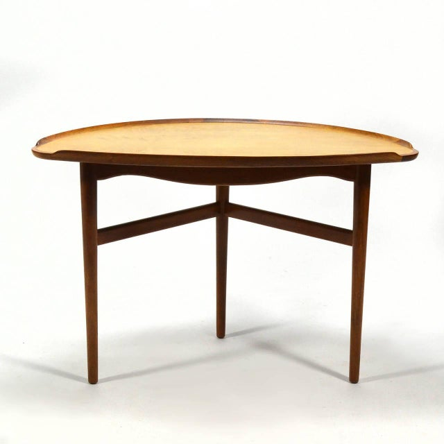 Wood Finn Juhl Table For Sale - Image 7 of 11