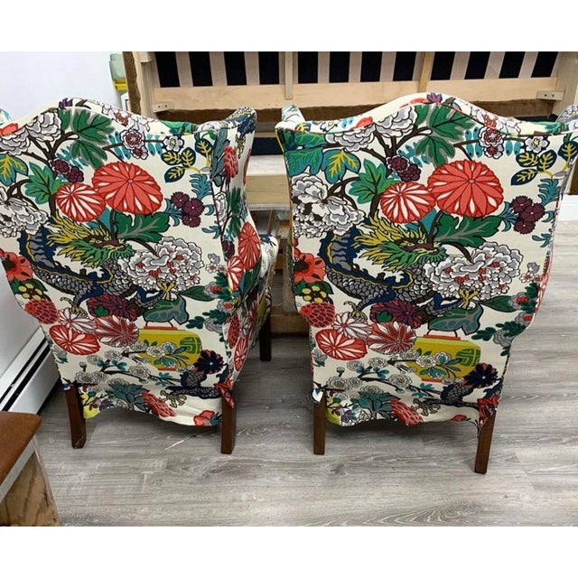 McLain Wiesand Custom Furniture Mai Dragon Club Chair For Sale - Image 4 of 11