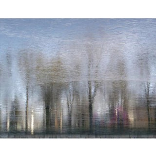 "Contemporary Impressionism Blue Urban Nature Photograph, ""Impressionism 28, Winter Evening, Ltd. Ed. 1/12"", by Curtis H. Jones For Sale"