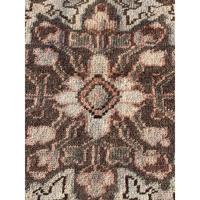 1960s Vintage Persian Hamadan Rug - 4′5″ × 6′6″ For Sale - Image 4 of 13