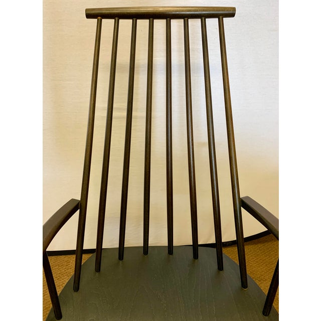 Wood Danish Mid Century Mobler Rocker Rocking Chair For Sale - Image 7 of 9