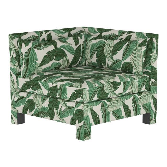 Corner Chair, Banana Palm Natural For Sale