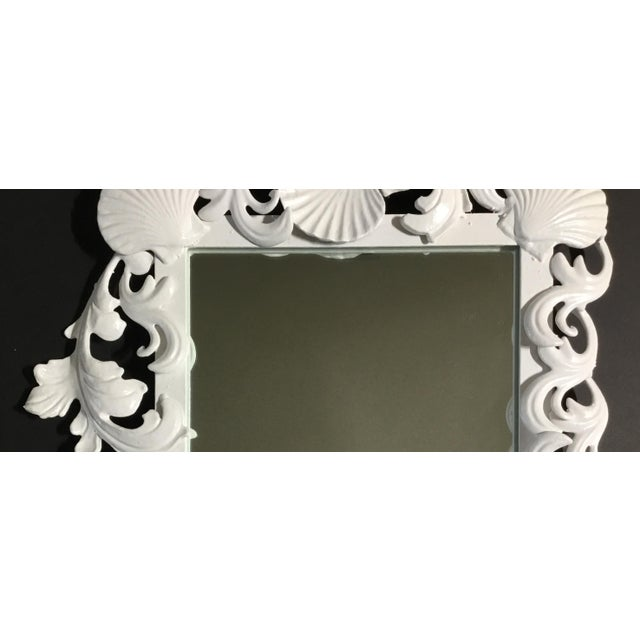 White Sea Shell Mirror For Sale In Miami - Image 6 of 10