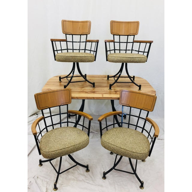 Art Deco Mid Century Modern McCobb Dinette Set For Sale - Image 3 of 10