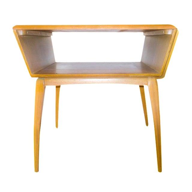 Mid-Century Modern Heywood Wakefield Side Table For Sale