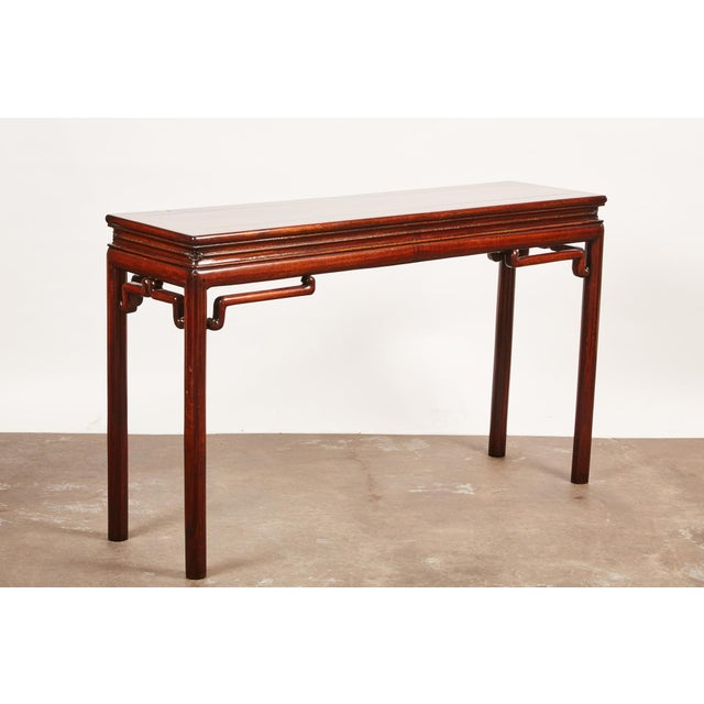 Chinese Rosewood Altar Table For Sale In Los Angeles - Image 6 of 8