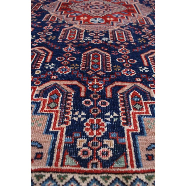 "Vintage Anatolian Turkish Rug - 4'8"" x 7'11"" - Image 4 of 6"