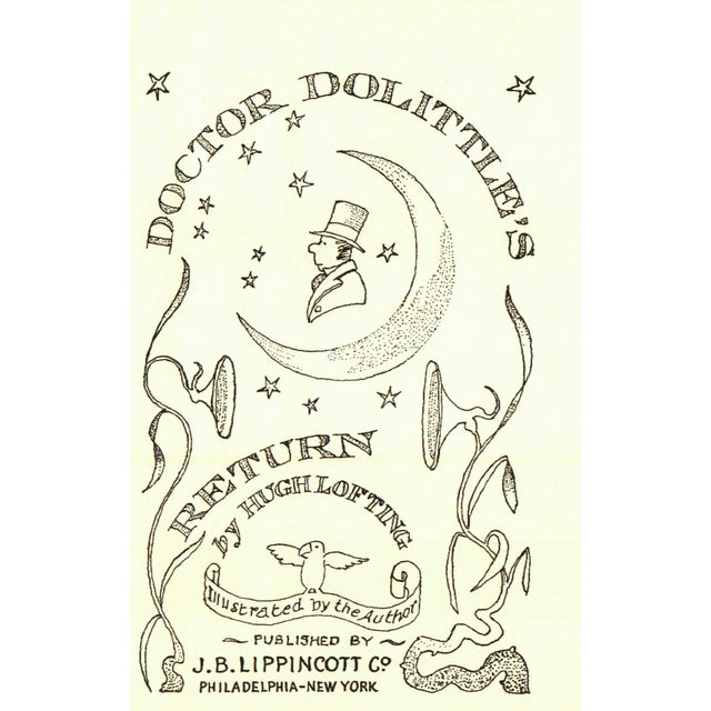 Traditional Doctor Dolittle's Return For Sale - Image 3 of 5