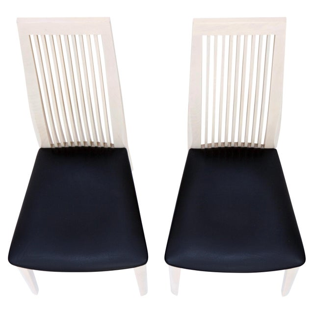 Italian Potocco Tall Dining Chairs, Set of 6 For Sale In Chicago - Image 6 of 10