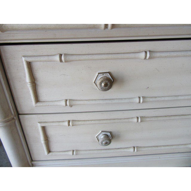 Thomasville Palm Beach Faux Bamboo Dresser - Image 7 of 8