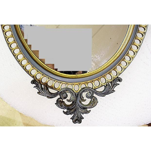 Resin Rococo Mirror For Sale - Image 5 of 6