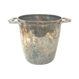Baroque Silver-Plated Champagne Cooler