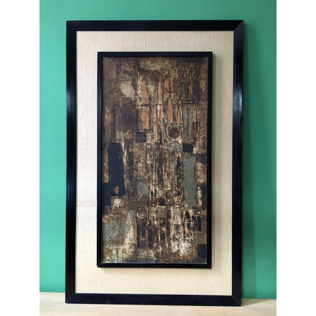 Framed Abstract Cityscape Serigraph Print by Dorothy Bowman For Sale - Image 9 of 11