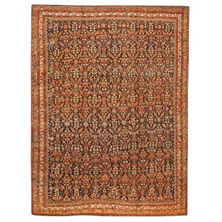 Exceptional Antique Persian Kurdish Carpet For Sale