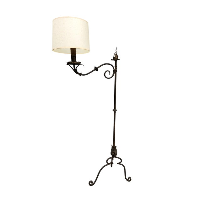 Mid 20th Century Vintage Floor Lamp For Sale - Image 5 of 5