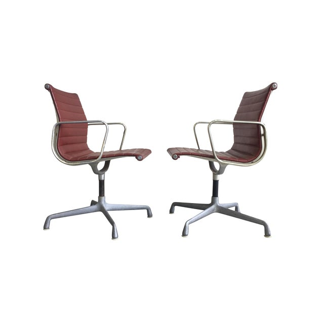 Herman Miller Eames Swivel Chairs for Herman Miller - a Set of 6 For Sale - Image 4 of 12