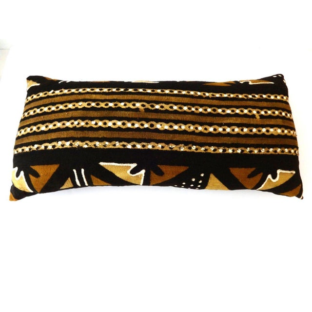 Mud Cloth Long Pillow - Image 2 of 9