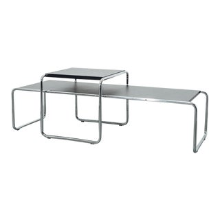 Mid 20th Century Laccio' Tables by Marcel Breuer - a Pair For Sale