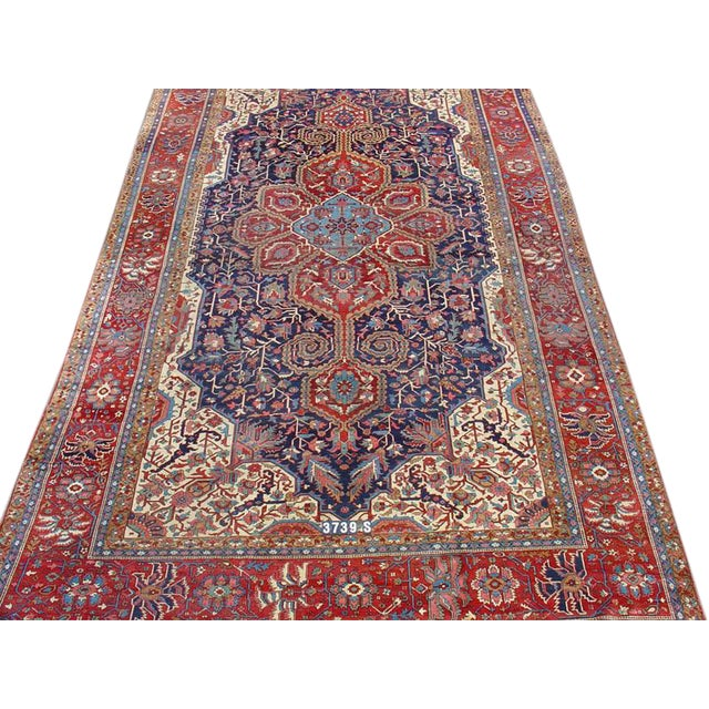 Over-Sized Serapi Carpet - Image 1 of 1