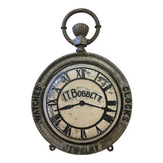 Pocket Watch Advertising Sign
