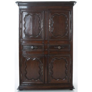 French 18th Century Dark Oak Homme Debout / Cupboard Preview