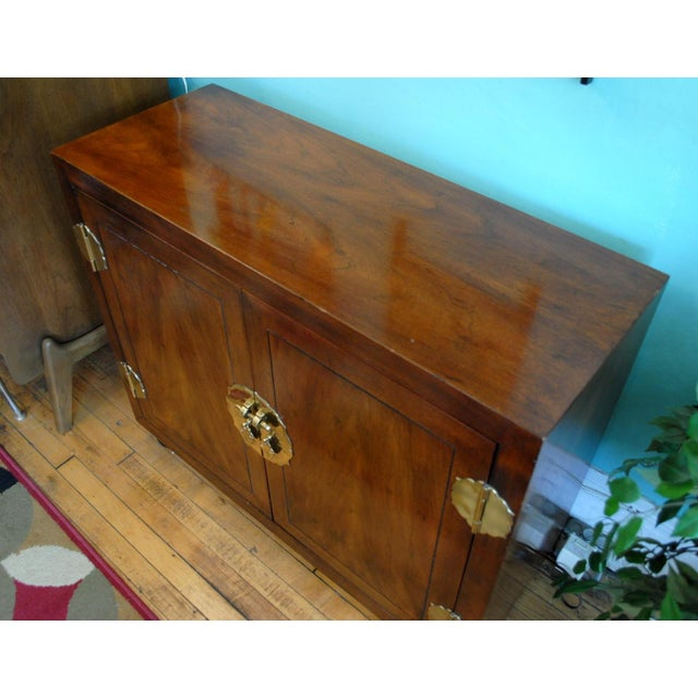 Mid-Century Asian-Style Cabinet - Image 9 of 10