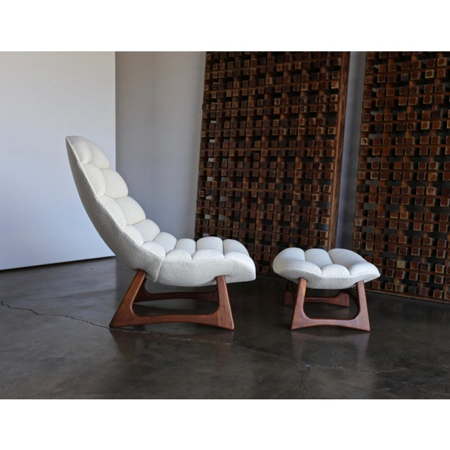 Craft Associates Adrian Pearsall Lounge Chair and Ottoman for Craft Associates Inc., Circa 1960 For Sale - Image 4 of 13
