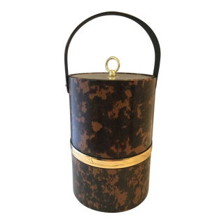Georges Briard Tortoise-Shell Ice Bucket
