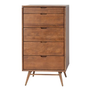 Case Dresser Cabinet In Walnut For Sale