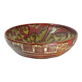 RELICWARE EARTHENWARE BOWL #88 BY ANDREW WILDER